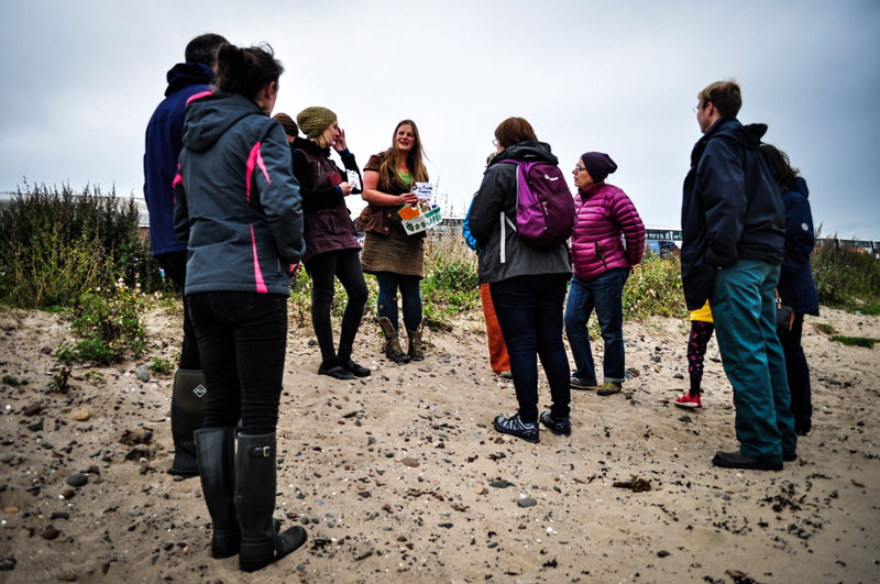 Judith Lamb foraging walk 2019